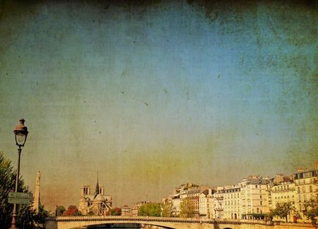 abrasion: old-fashioned paris france Stock Photo