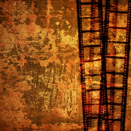 Great film strip for textures and backgrounds frame Stock Photo - 9124865