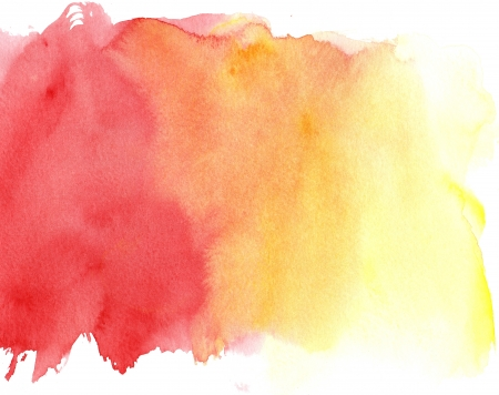 great watercolor background - watercolor paints on a rough texture paper photo