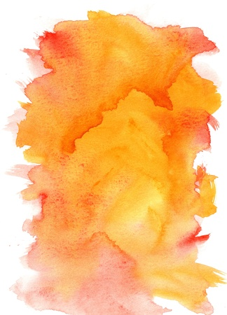 scan paper: great watercolor background - watercolor paints on a rough texture paper Stock Photo