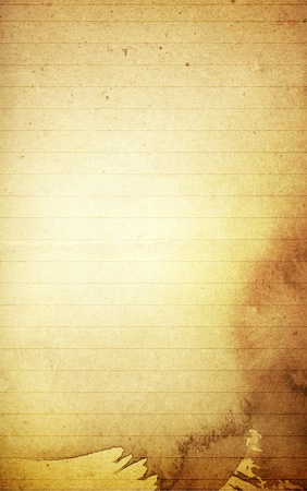 lined: grunge textures blank note paper background