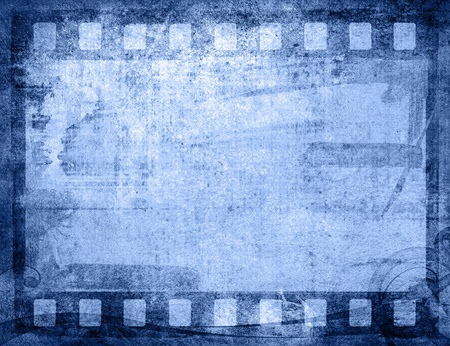 Great film strip for textures and backgrounds frame  photo