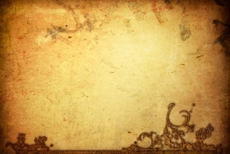 parchemin: Contexte cr�atif - wallpaper Grunge avec espace