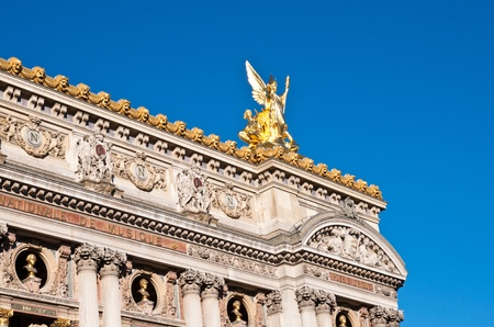 as one: The Opera Garnier in paris France.it is regarded as one of the architectural masterpieces of its time.