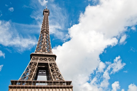become: The Eiffel Tower (nickname La dame de fer, the iron lady),The tower has become the most prominent symbol of both Paris and France