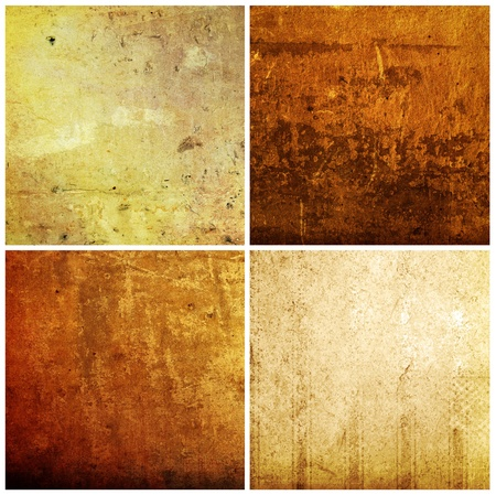 art materials: background in grunge style  containing different textures