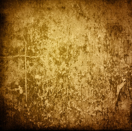 Brown grungy wall - Great textures for your design photo