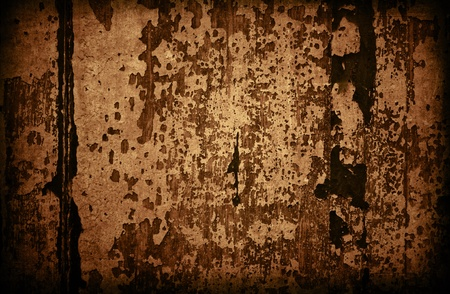 ancient relics: Brown grungy wall - Great textures for your Stock Photo