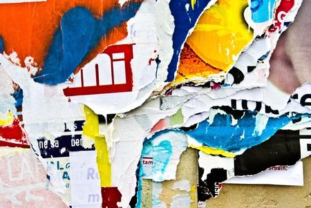 Antiguos carteles grunge texturas y fondos