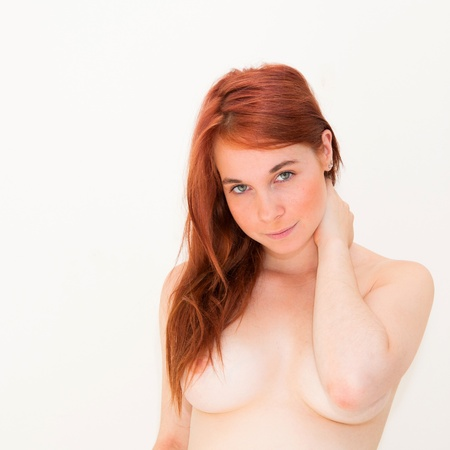 Sexy body-beautiful young attractive nude caucasian woman Stock Photo - 11069649