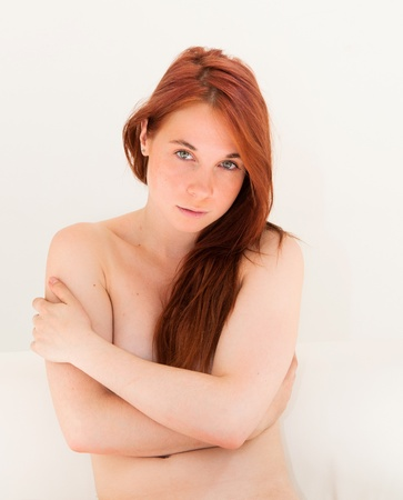 Sexy body-beautiful young attractive nude caucasian woman Stock Photo - 11069745