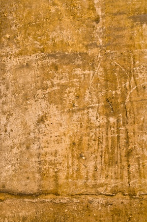 Brown grungy wall - Great textures for your design Stock Photo - 11178442