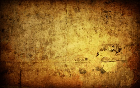 Brown grungy wall - Great textures for your design Stock Photo - 11265853