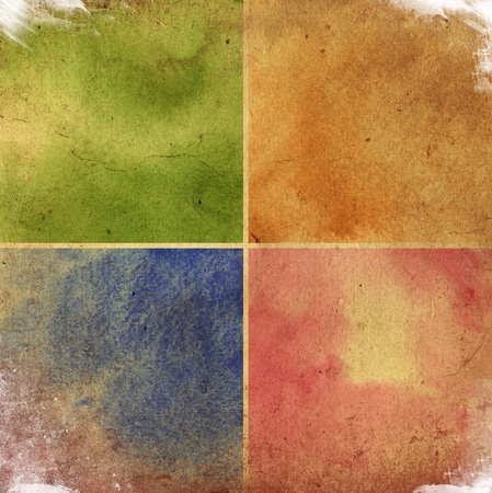 scan paper: colorful watercolor background for your design Stock Photo