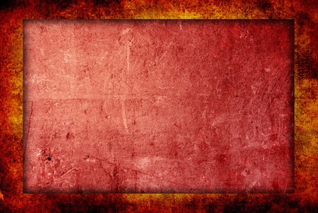 crease: highly Detailed grunge background frame with space Stock Photo