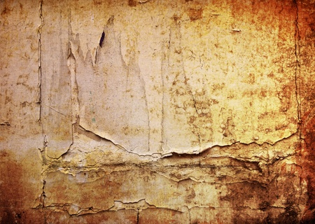 Brown grungy wall - textures for your design Stock Photo - 11782625