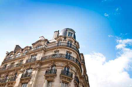 antique city building in paris,france Europe Stock Photo - 12762906