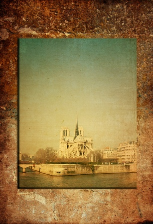 old-fashioned paris france photo