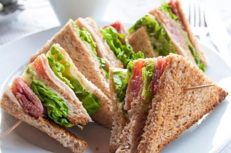 trays: Sandwich de pollo con patatas, queso y oro French fries