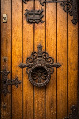 wooden door grunge textures and backgrounds photo