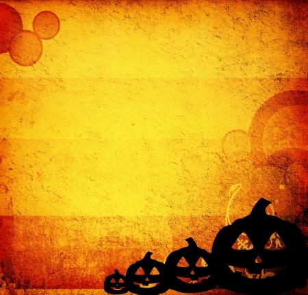 calabazas de halloween: Calabazas de Halloween con sus amigos de calabaza