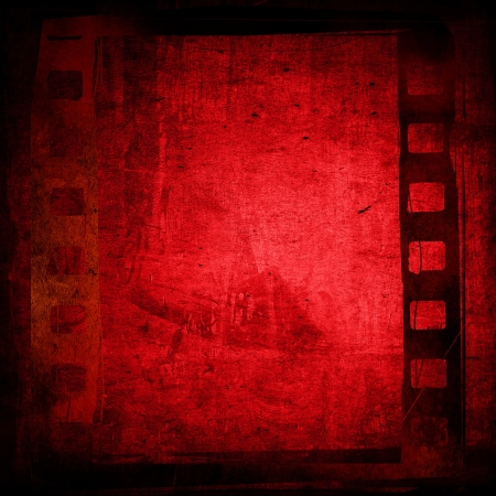 photographic film: Great film strip for textures and backgrounds with space