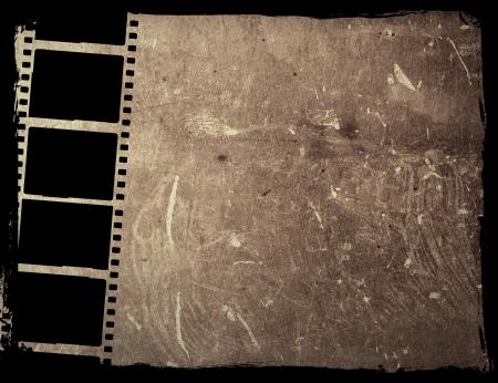 Große Film-Streifen für Texturen und Hintergründe Frame