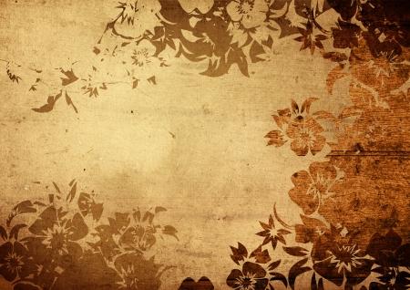 antiek behang: china stijl texturen en achtergronden met ruimte voor tekst of afbeelding