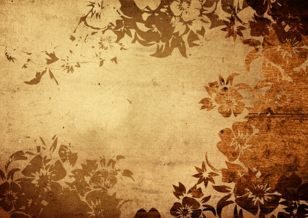 grunge edge: china style textures and backgrounds with space for text or image