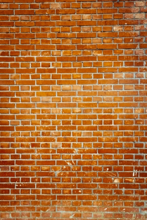 brick background: Old red brick wall backgrounds Stock Photo