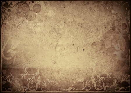 floral style textures and backgrounds frame with space photo