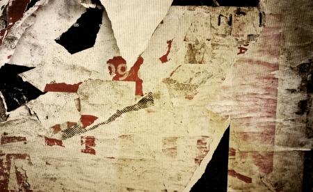 Oude affiches grunge texturen en achtergronden