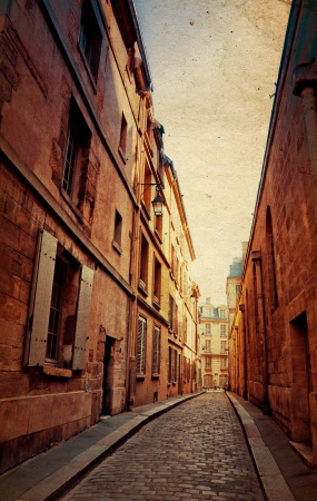 old-fashioned paris france -  with space for text or image Stock Photo