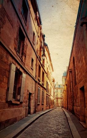 paisajes: pasado de moda en Par�s, Francia - con el espacio para el texto o la imagen