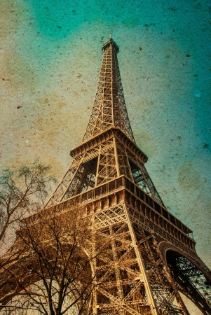 The Eiffel Tower  nickname La dame de fer, the iron lady ,The tower has become the most prominent symbol of both Paris and France photo