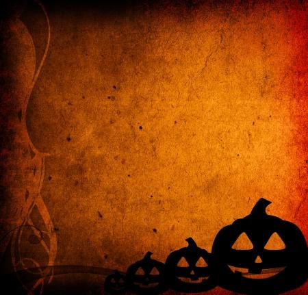 Halloween pumpkins with pumpkin friends Stock Photo - 15818907