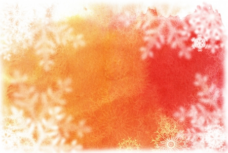 winter flower: Christmas abstract Background frame