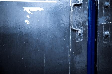 wooden door grunge textures and backgrounds Stock Photo - 16160822