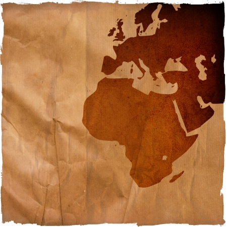 aged Europe map-grunge artwork photo