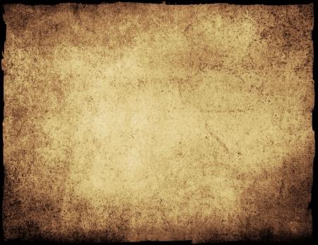 пергамент: очень подробные гранж фон кадр с пространством