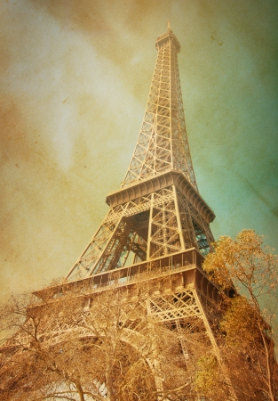 The Eiffel Tower (nickname La dame de fer, the iron lady),The tower has become the most prominent symbol of both Paris and France photo