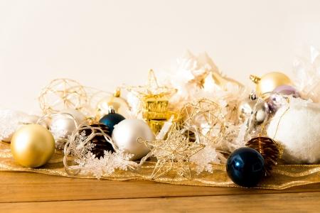 christmas balls over White background Stock Photo - 16886608