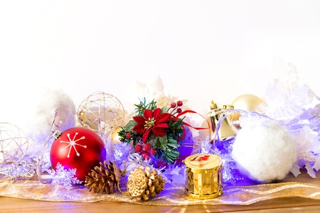 Celebration theme with christmas gifts photo