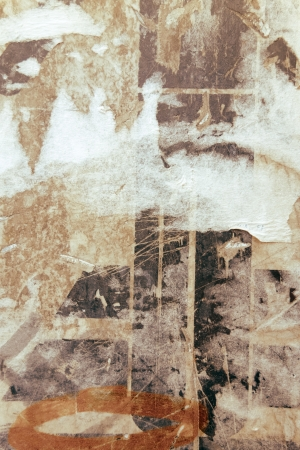 Alte Plakate Grunge Texturen und Hintergründe