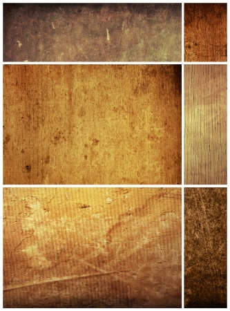background in grunge style  containing different textures Stock Photo - 17334191