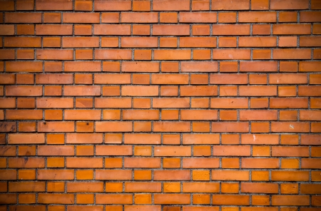 Old red brick wall backgrounds  photo