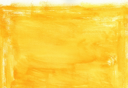 yellow watercolor background for your design painting on paper from my originals  Stock Photo - 18391938