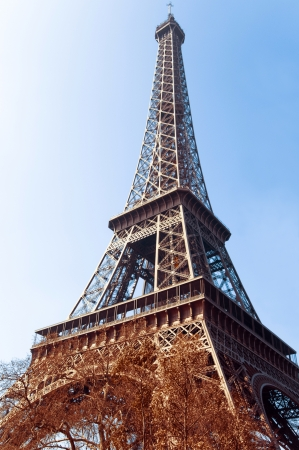 Eiffel Tower (nickname La dame de fer, the iron lady),The tower has become the most prominent symbol of both Paris and France photo