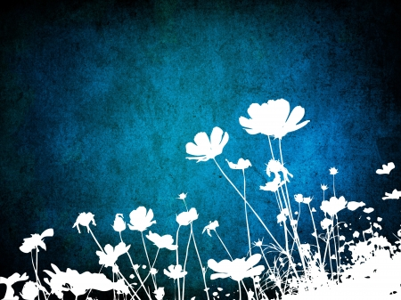 floral style textures with space for text or image Stock Photo - 19002739