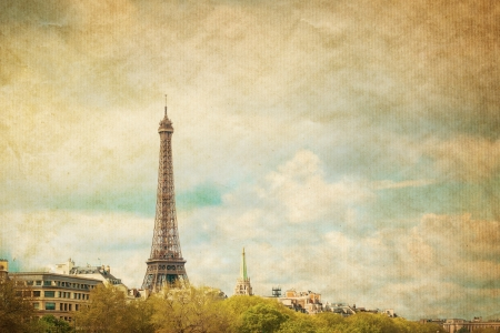 The Eiffel Tower-The tower has become the most prominent symbol of both Paris and France photo